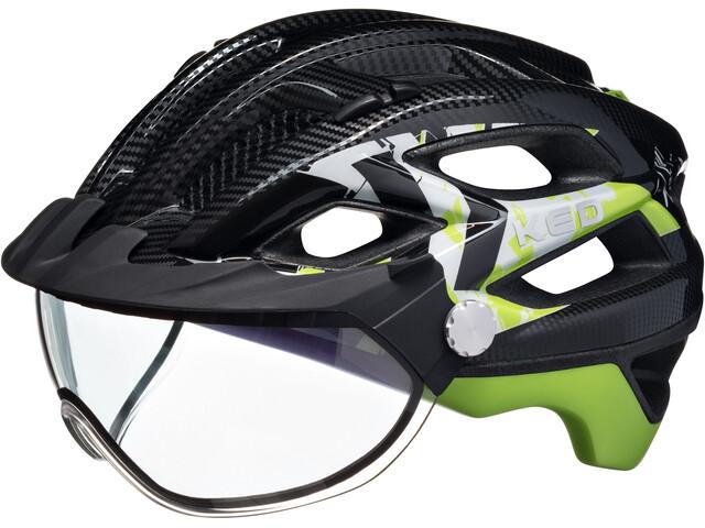 KED Covis Helmet Black Green